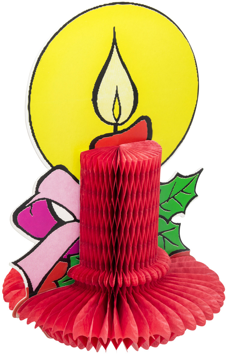 Подвеска декоративная Winter Wings Свеча, 18 х 26 смN09258Подвеска декоративная Winter Wings Свеча, выполненная из бумаги, отлично подойдет для декорации вашего дома и новогодней ели.Новогодние украшения всегда несут в себе волшебство и красоту праздника. Создайте в своем доме атмосферу тепла, веселья и радости, украшая его всей семьей.