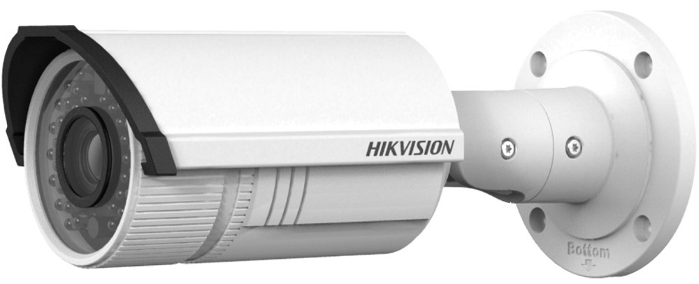 Hikvision DS-2CD2622FWD-IS камера видеонаблюдения3469992Мп уличная цилиндрическая IP-камера с ИК-подсветкой до 30м 1/2.8 Progressive Scan CMOS; вариообъектив 2.8-12мм; угол обзора 106°~35°; механический ИК-фильтр; 0.01лк@F1.2; сжатие H.264/MJPEG/H.264+; двойной поток; 1920?1080@25к/с; WDR 120дБ, 3D DNR, BLC, ROI; обнаружение движения, вторжения в область и пересечения линии; слот для microSD до 128Гб; аудиовход/выход 1/1; тревожные вход/выход 1/1; 1 RJ45 10M/100M Ethernet; DC12В± 25%/PoE(802.3af); 7.5Вт макс; -40 °C...+60 °C; IP67; вес 1.2кг.