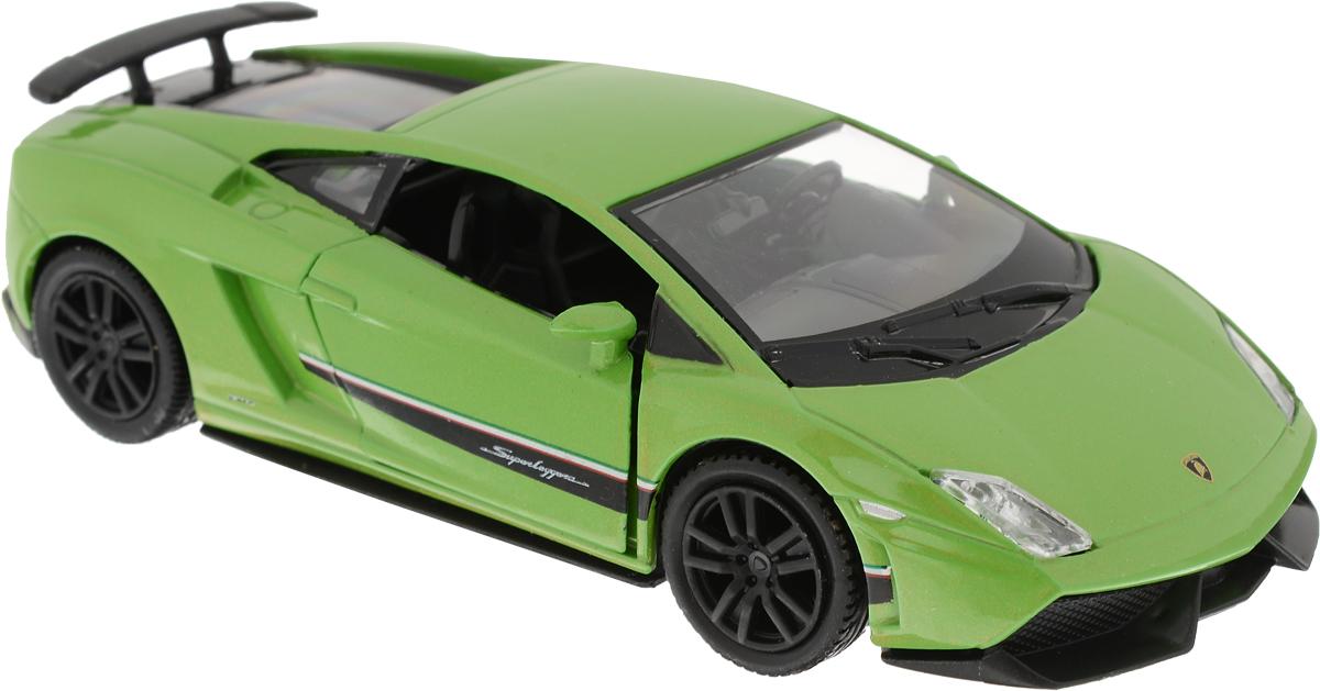 Autotime Модель автомобиля Land Rover Defender цвет зеленый машинки autotime машина uaz 31514 ваи