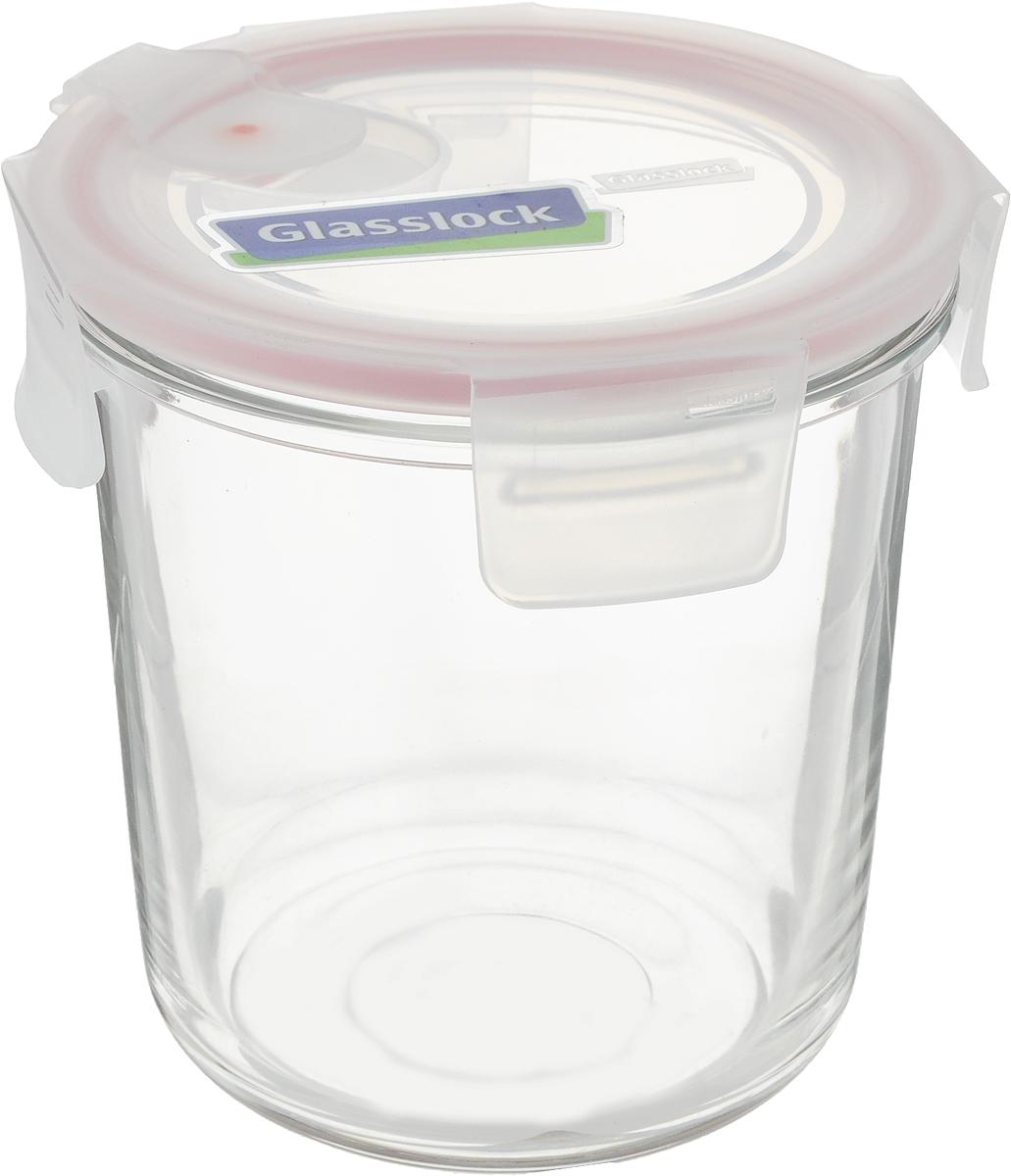 Контейнер Glasslock, круглый, цвет: прозрачный, 720 млMCCD-072AКонтейнер для хранения Glasslock изготовлен из высококачественного закаленного ударопрочного стекла. Герметичная крышка, выполненная из пластика и снабженная уплотнительной резинкой, надежно закрывается с помощью четырех защелок. Подходит для мытья в посудомоечной машине, хранения в холодильных и морозильных камерах, использования в микроволновых печах.Стеклянная посуда нового поколения от Glasslock экологична, не содержит токсичных и ядовитых материалов; превосходная герметичность позволяет сохранять свежесть продуктов; покрытие не впитывает запах продуктов; имеет утонченный европейский дизайн - прекрасное украшение стола.Диаметр контейнера: 11 см.Высота контейнера (с учетом крышки): 12 см.