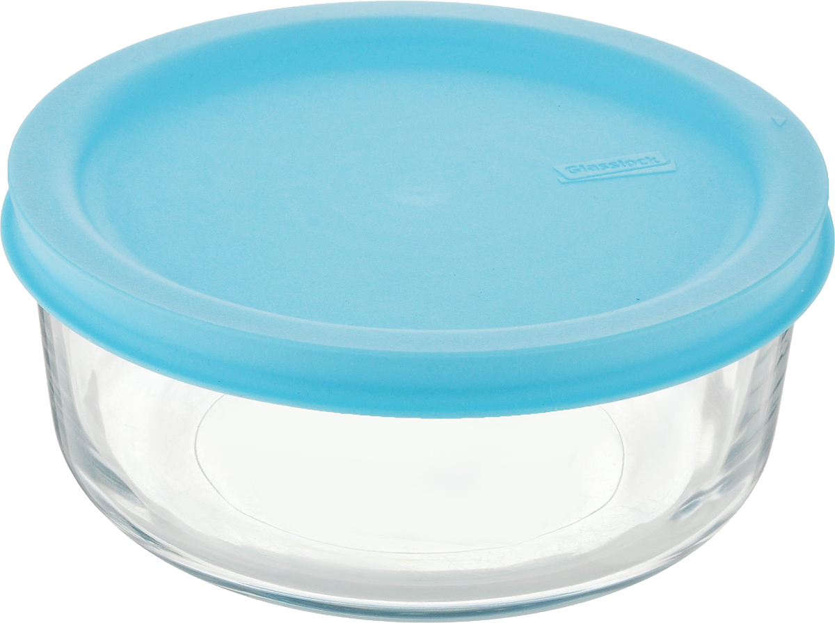 """Контейнер для хранения """"Glasslock"""" изготовлен из высококачественного закаленного ударопрочного стекла.  Подходит для мытья в посудомоечной машине, хранения в холодильных и морозильных камерах, использования в  микроволновых печах. Стеклянная посуда нового поколения от """"Glasslock"""" экологична, не содержит токсичных и ядовитых материалов;  превосходная герметичность позволяет сохранять свежесть продуктов; покрытие не впитывает запах продуктов;  имеет утонченный европейский дизайн - прекрасное украшение стола. Диаметр контейнера (по верхнему краю): 12 см. Высота контейнера (с учетом крышки): 5,5 см."""