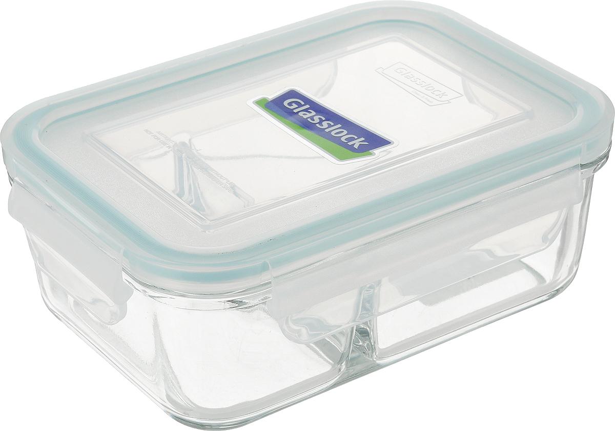 Контейнер Glasslock, прямоугольный, цвет: прозрачный, 670 млMCRK-067Контейнер для хранения Glasslock изготовлен из высококачественного закаленного ударопрочного стекла. Герметичная крышка, выполненная из пластика и снабженная уплотнительной резинкой, надежно закрывается с помощью четырех защелок.Подходит для мытья в посудомоечной машине, хранения в холодильных и морозильных камерах, использования в микроволновых печах. Стеклянная посуда нового поколения от Glasslock экологична, не содержит токсичных и ядовитых материалов; превосходная герметичность позволяет сохранять свежесть продуктов; покрытие не впитывает запах продуктов; имеет утонченный европейский дизайн - прекрасное украшение стола. Размер контейнера (по верхнему краю): 16 х 11 см. Высота контейнера (с учетом крышки): 6,5 см.