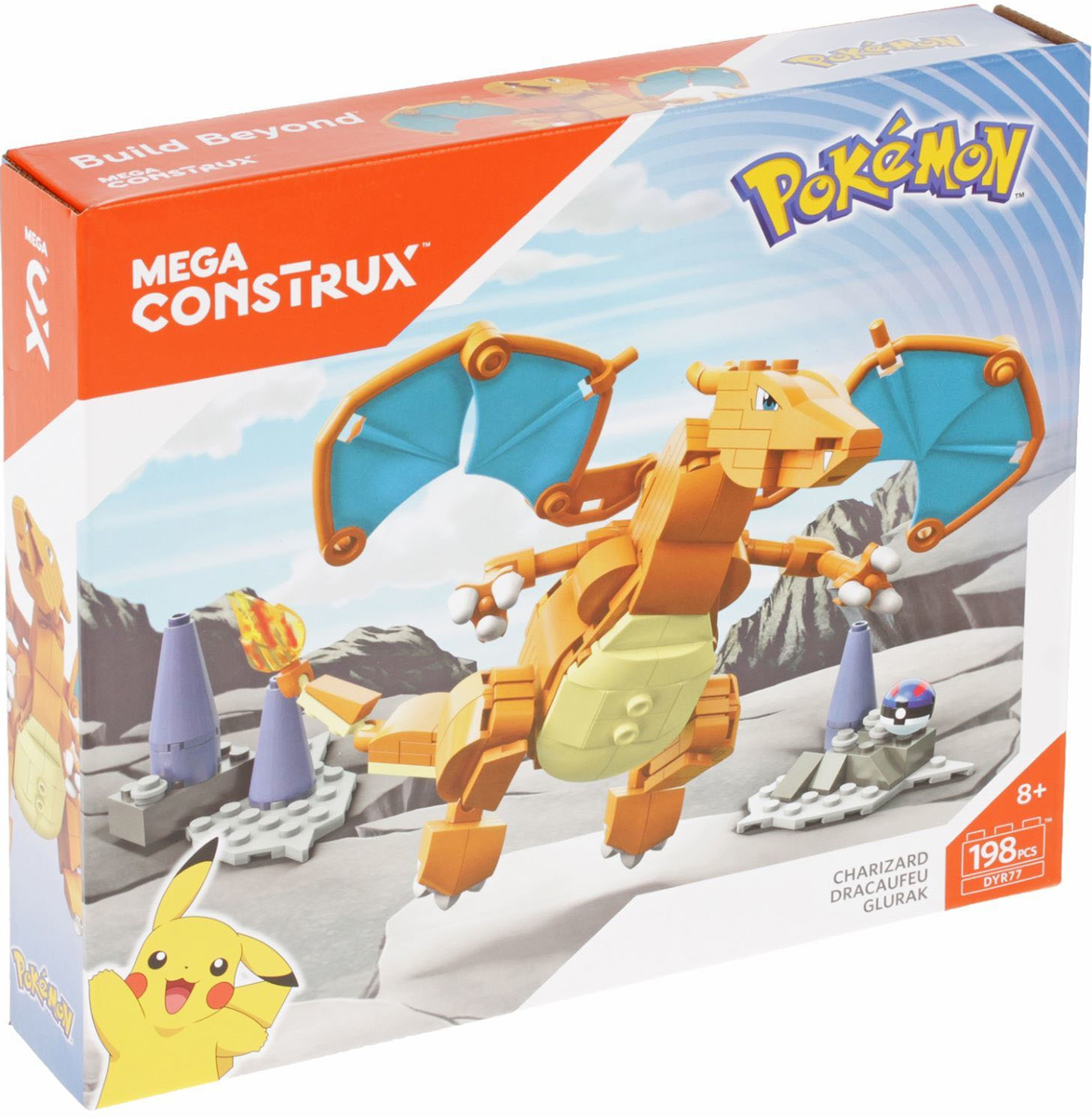Mega Bloks Pokemon Конструктор Чаризард