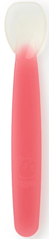 Farlin Ложечка для введения первого прикорма с 4 месяцев цвет розовый