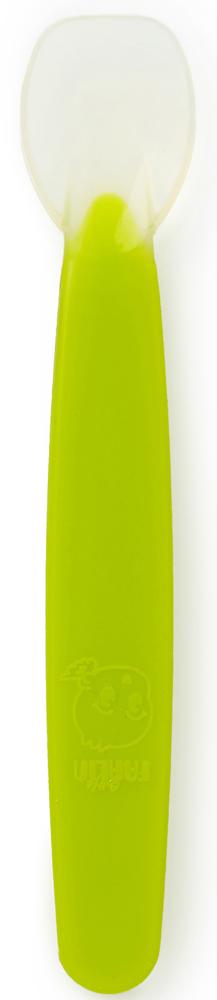 Farlin Ложечка для введения первого прикорма 4+ месяца цвет салатовыйBF-239_салатовыйПри помощи этих ложечек удобно вводить первый прикорм: мягкий силикон не повредит нежные десны малыша, и ребенок будет обучаться первым навыкам кормления из ложки. Не содержит Фталат и ПВХ. BPA-Free.