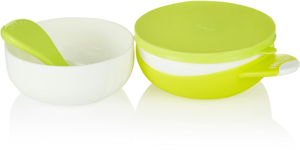 """Набор посуды для кормления """"Farlin"""" идеально подойдет для вашего малыша на первые самостоятельные приемы пищи. Не скользит на любой поверхности. Можно разогревать пищу в микроволновой печи мыть мыть в посудомоечной машине. Все аксессуары можно хранить в одном комплекте, удобный для путешествий. • Не содержит Фталат и ПВХ. • BPA-Free."""