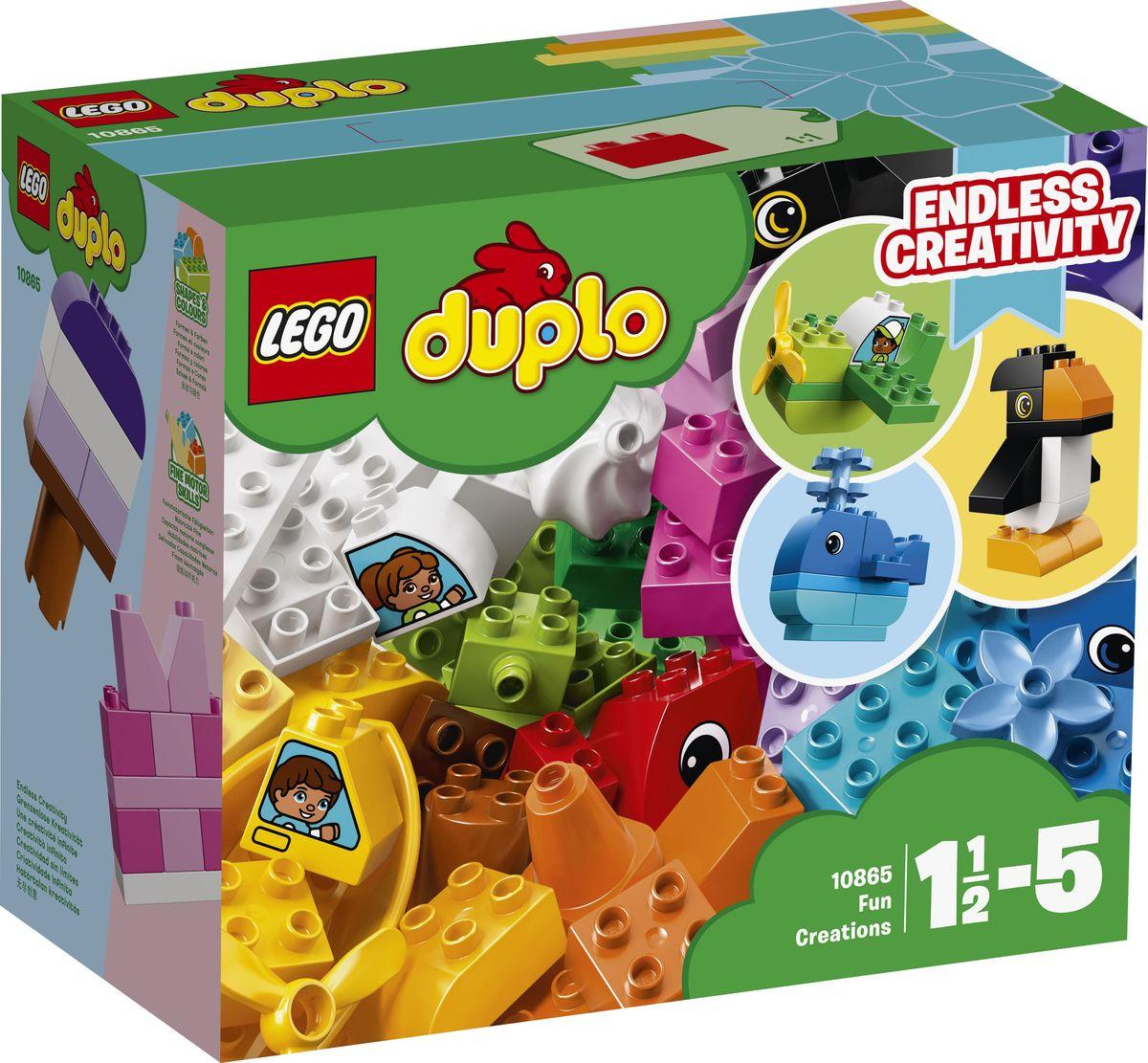LEGO DUPLO My First Конструктор Веселые кубики 10865 lego duplo my first конструктор мои первые домашние животные 10858