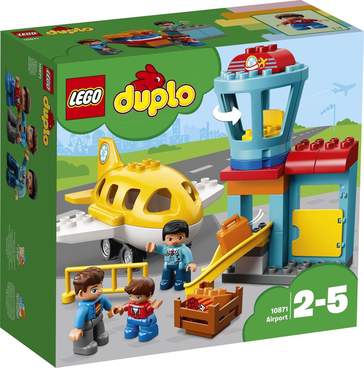 LEGO DUPLO Town Конструктор Аэропорт 10871 lego duplo my first конструктор мои первые домашние животные 10858