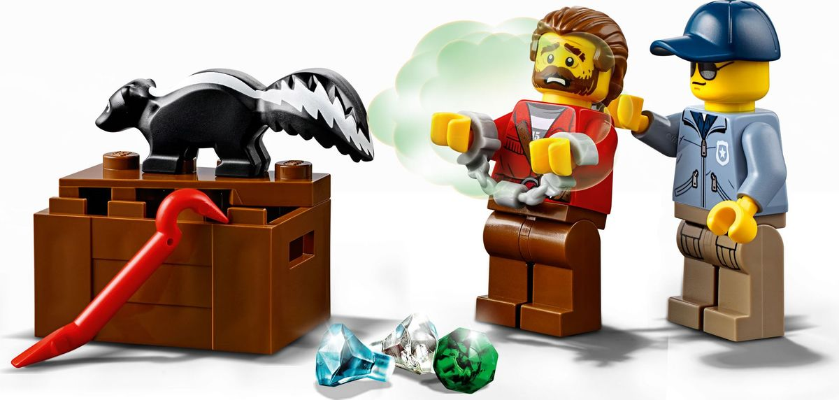 LEGO City PoliceКонструктор Погоня по горной реке 60176