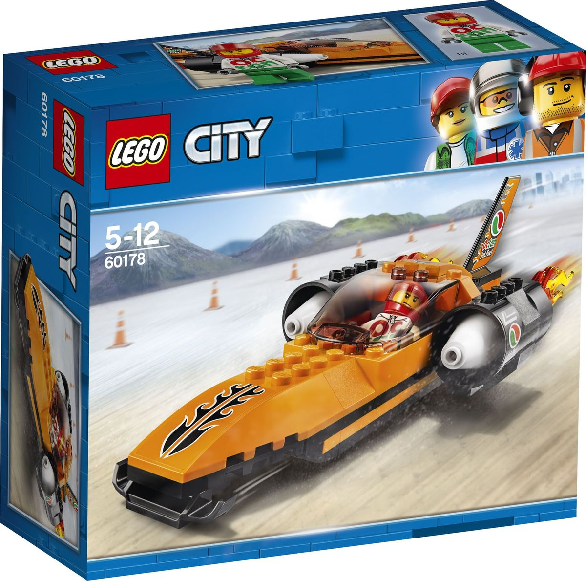 LEGO City Great Vehicles Конструктор Гоночный автомобиль 60178 конструктор lego city great vehicles 60178 гоночный автомобиль