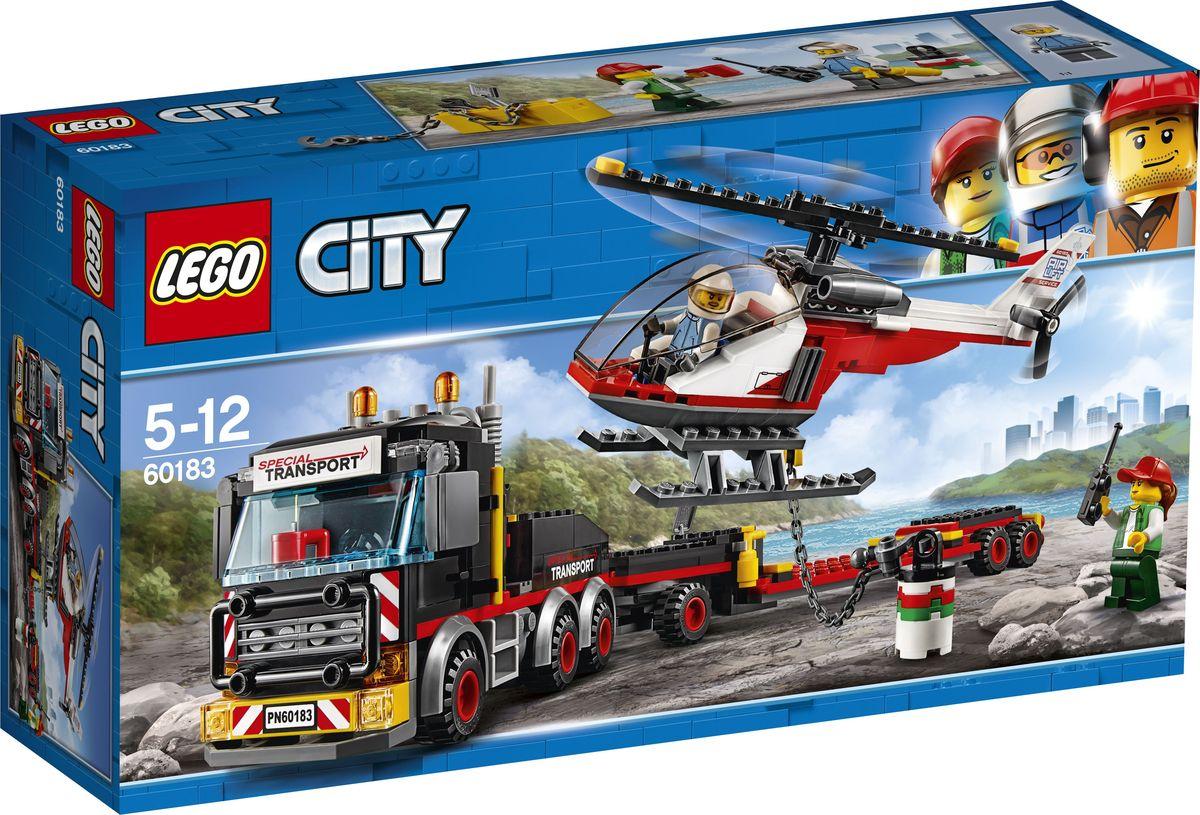 LEGO City Great Vehicles Конструктор Перевозчик вертолета 60183