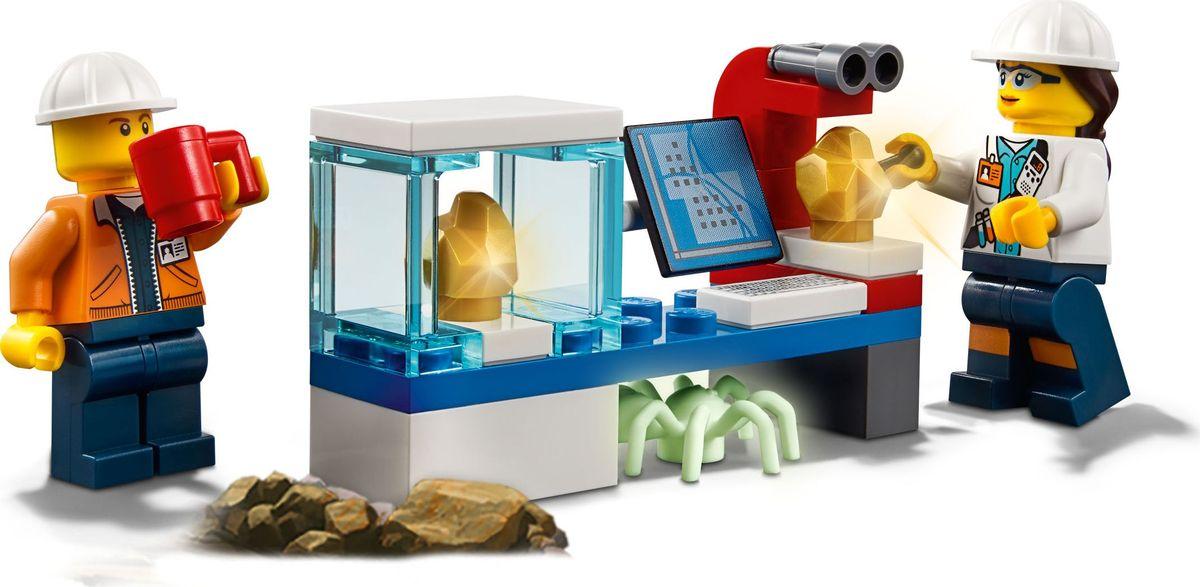 LEGO City MiningКонструктор Тяжелый бур для горных работ 60186