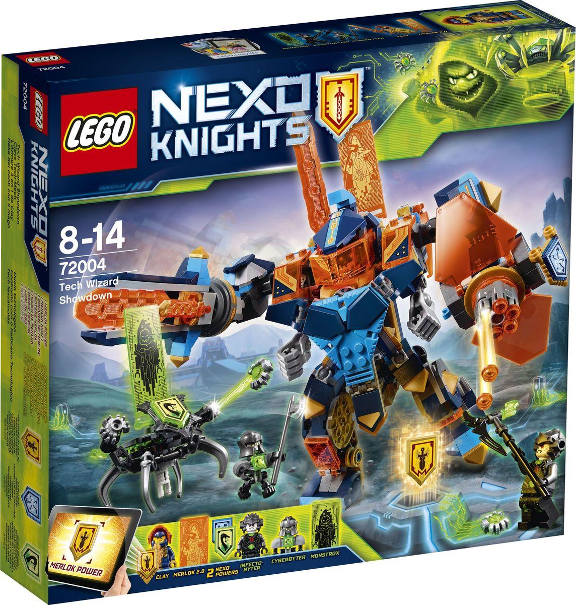 LEGO NEXO KNIGHTS Конструктор Решающая битва роботов 72004 тетради lego тетрадь 100 листов линейка lego nexo knights рыцари нексо размер 19х24 7 см