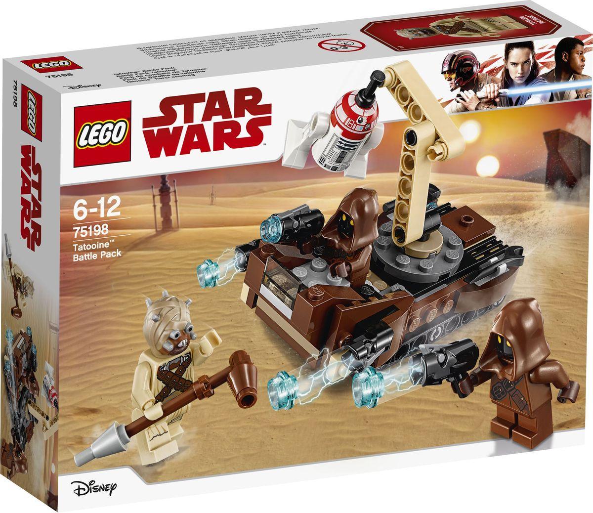 LEGO Star Wars Конструктор Боевой набор планеты Татуин 75198