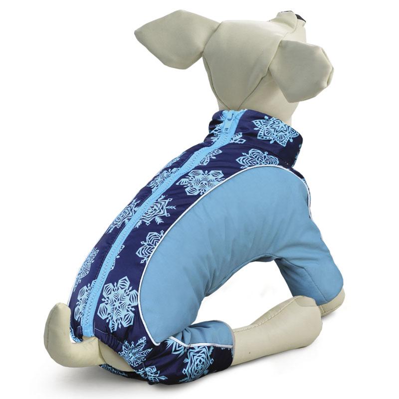 Комбинезон для собак Gamma Спорт, зимний, для мальчика. Размер XL куртка для собак дог мастер утепленная спорт xl