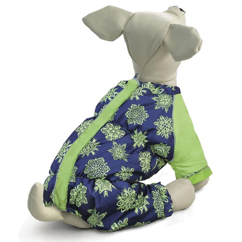 Комбинезон для собак Gamma Французский бульдог, зимний, унисекс. Размер L