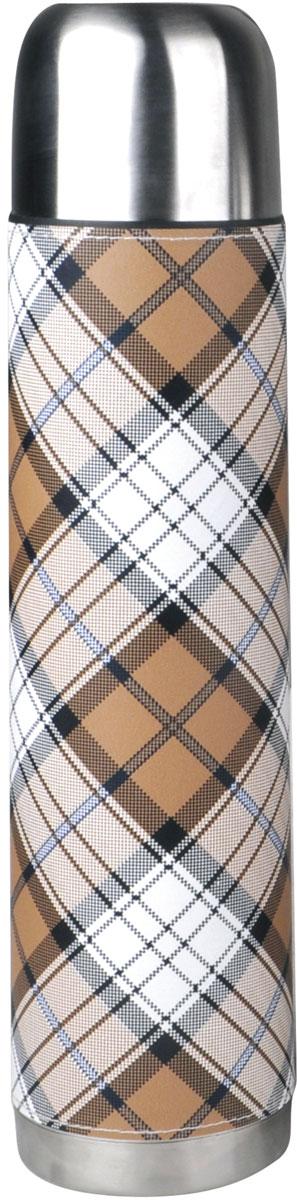 Термос Rainstahl, цвет: коричневый, 1 л. 7734-10RS\TH7734-10RS\THТермос с узким горлом. Вакуумная колба из нержавеющей стали позволяет сохранять тепло долгое время. Кнопочный предохранительный клапан. Легко мыть.