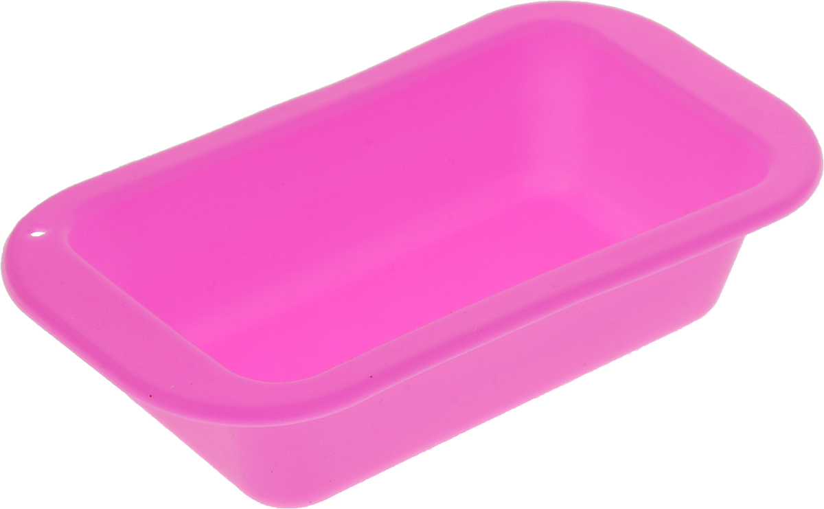 Форма для выпечки Доляна Базис, цвет: ярко-розовый, 15 х 8 х 4 см1685186_ярко-розовыйФорма для выпечки из силикона - современное решение для практичных и радушных хозяек. Оригинальный предмет позволяет готовить в духовке любимые блюда из мяса, рыбы, птицы и овощей, а также вкуснейшую выпечку. Почему это изделие должно быть на кухне? - блюдо сохраняет нужную форму и легко отделяется от стенок после приготовления;- высокая термостойкость (от -40°C до +230°С) позволяет применять форму в духовых шкафах и морозильных камерах;- небольшая масса делает эксплуатацию предмета простой даже для хрупкой женщины;- силикон пригоден для посудомоечных машин;- высокопрочный материал делает форму долговечным инструментом;- при хранении предмет занимает мало места.Советы по использованию формы:Перед первым применением промойте предмет тёплой водой.В процессе приготовления используйте кухонный инструмент из дерева, пластика или силикона.Перед извлечением блюда из силиконовой формы дайте ему немного остыть, осторожно отогните края предмета.Готовьте с удовольствием!