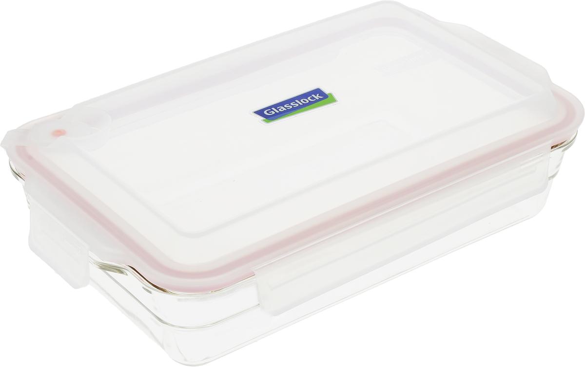 Контейнер Glasslock, прямоугольный, цвет: прозрачный, 2,25 лOCRP-220-1AСтеклянный контейнер для запекания с герметичной крышкой с креплениями Glasslock, 2,25 л.Для использования в духовом шкафу, (выдерживает t 230°С), а так же холодильнике, морозильной камере и микроволновой печи. 100% герметичность и защита продукта от влаги, посторонних запахов, плесени, насекомых. Пластиковая крышка с фиксаторами.