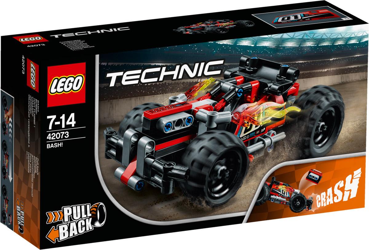 LEGO Technic Конструктор Гоночный автомобиль цвет красный 42073 lego technic 42031 ремонтный автокран