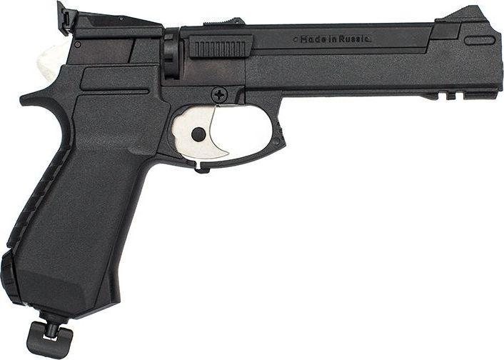 Пистолет пневматический Калашников. МР-651К пневматический пистолет glock в минске