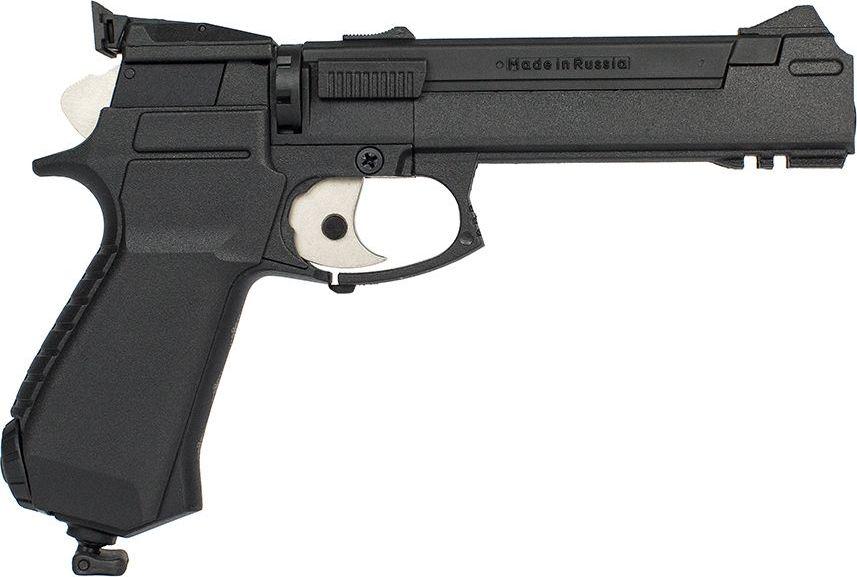 Пистолет пневматический Калашников. МР-651КС-07 пневматический пистолет glock в минске