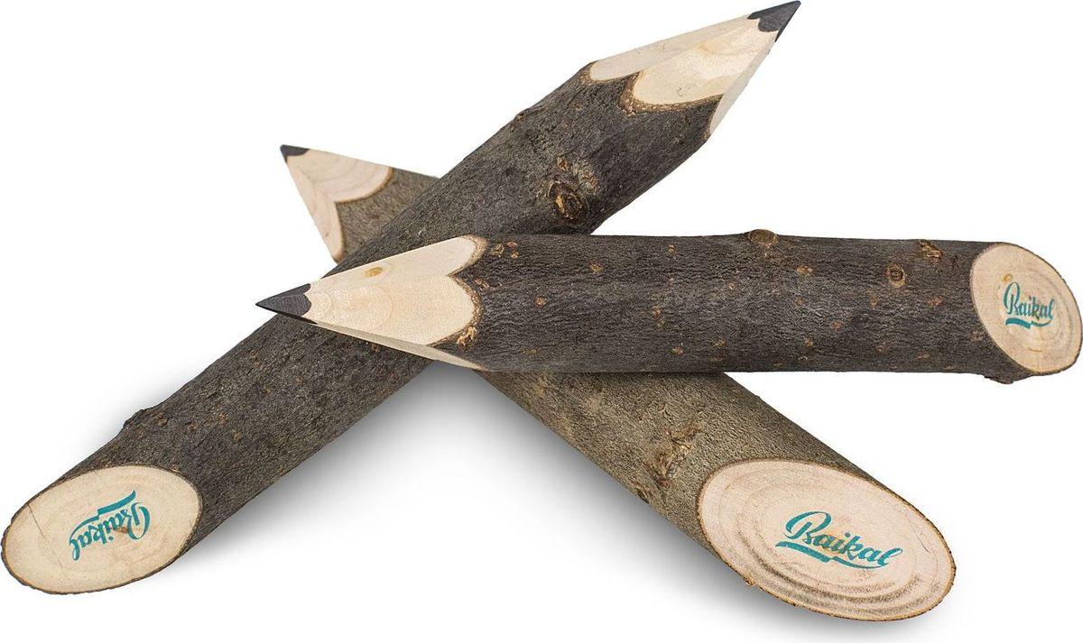 Карандаш Калашников Лесовик, длина 15 смОТК000106Карандаш, выполненный из ветки дерева, толще обычного, но его тоже удобно держать в руке. Канцелярская принадлежность имеет острый грифель. Поверхность карандаша гладкая, хорошо обработанная, что делает его приятным на ощупь.