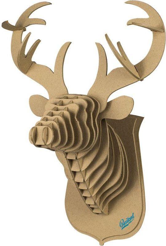 декоративная голова оленя paul Конструткор Калашников Голова благородного оленя