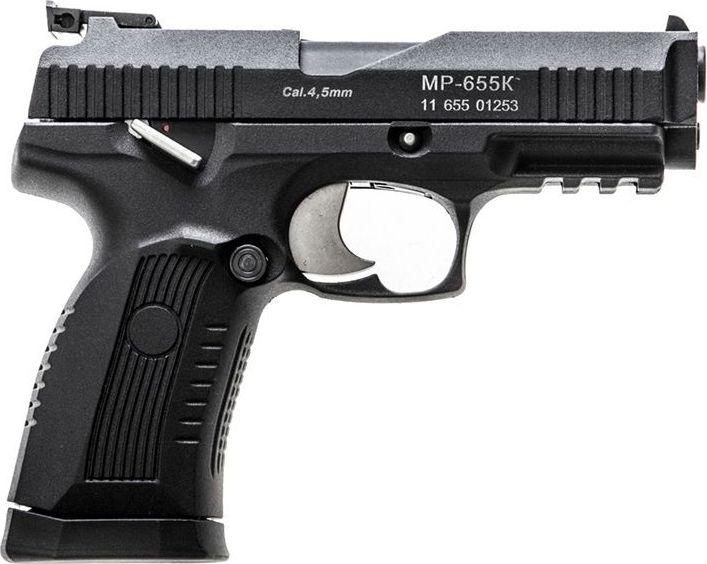 Пистолет пневматический Калашников, газобалонный. MP-655K пневматический пистолет glock в минске