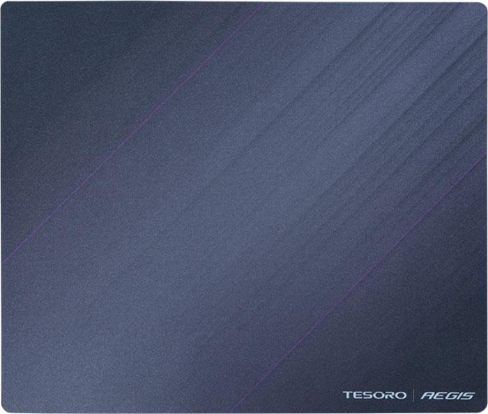 Tesoro Aegis X2, Black игровой коврик для мышиTS-X2Tesoro Aegis X2 - высококачественный тканевый игровой коврик, обеспечивающий легкое скольжение и точное управление курсором. 3D поверхность коврика выполнена из мелкотекстурированной ткани, одинаково подходящей для работы и с оптическими, и с лазерными сенсорами. Края Aegis X2 обрезаны лазером или обшиты, что гарантирует долговечность игровой поверхности.