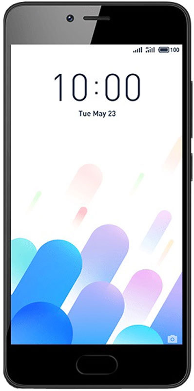 Meizu M5c 32GB, Black - Смартфоны