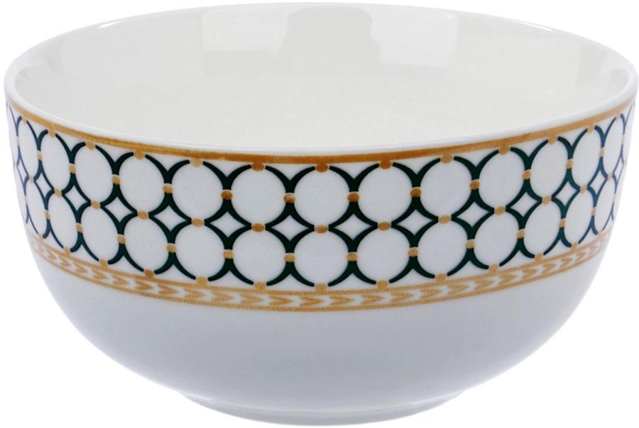 """Салатник """"Ningbo Royal"""" удивит вас приятным сочетанием отменного качества фарфора и геометрическим декором. Посуда найдет свое применение как в городской квартире, так и в загородном доме. Салатник можно использовать в СВЧ и мыть в посудомоечной машине."""