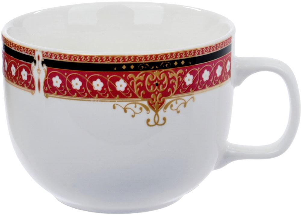 Чашка чайная Ningbo Royal, 460 мл. RUCH029-3RUCH029-3Фарфоровая столовая посуда фабрики Royal Union удивит вас приятным сочетанием отменного качества фарфора, классическими цветочными декорами. Посуда найдет свое применение как в городской квартире, так и в загородном доме. Классический декор будет одинаково хорошо смотреться в любое время года. Посуду из фарфора RU можно использовать в СВЧ и мыть в ПММ.