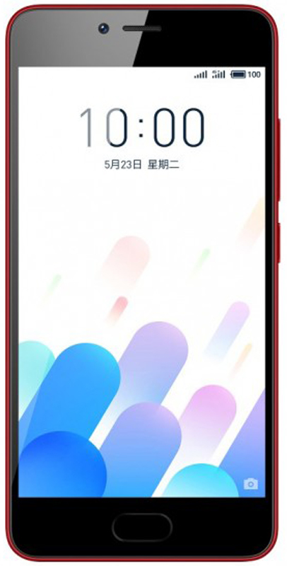 Meizu M5c 32GB, Red - Смартфоны