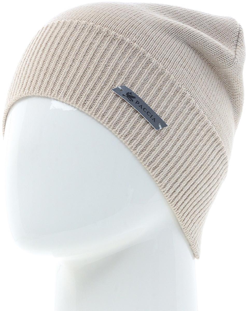 Шапка женская Paccia, цвет: фрез. NR-21703-3. Размер 55/58NR-21703-3Женская шапка-бини Paccia выполнена из шерсти с добавлением акрила. Эта шапка не только согреет в холодную погоду, но и стильно дополнит ваш образ.