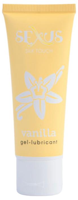 Sexus Lubricant Гель-лубрикант на водной основе с ароматом ванили Silk Touch Vanilla, 50 мл105026Гель-лубрикант с ароматом ванили.