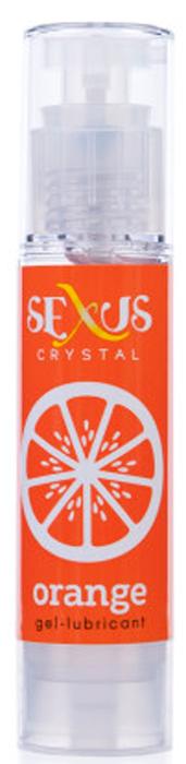 Sexus Lubricant Гель-лубрикант на водной основе с ароматом апельсина Crystal Orange, 60 мл увлажняющие смазки аромат – кокос