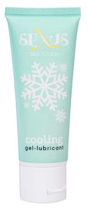 Sexus Lubricant Гель-лубрикант на водной основе охлаждающий Silk Touch Cooling, 50 мл sexus silk touch anal 50 мл анальная гель смазка на водной основе