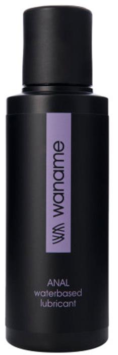 Waname Lubricant Анальный лубрикант Waname Anal на водной основе, 100 мл анальный стимулятор small bubble plug черный