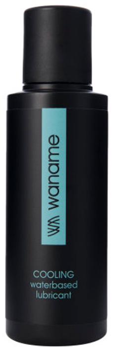 Waname Lubricant Лубрикант Waname Cooling с охлаждающим эффектом на водной основе, 100 мл lux fetish beginners черные трусики для крепления страпона