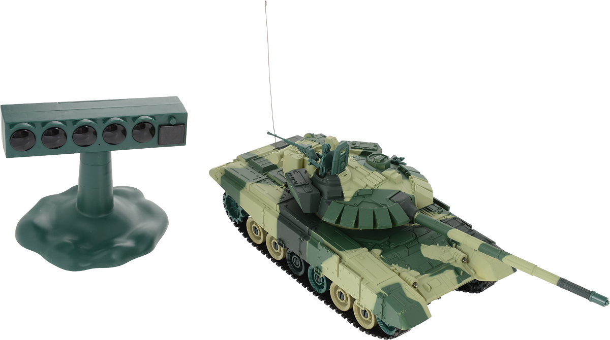 Властелин небес Танк на радиоуправлении Танковый Биатлон цвет зеленый - Радиоуправляемые игрушки