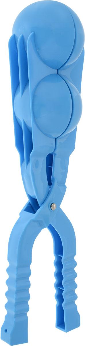 Зимние забавы Снежколеп двойной цвет голубой 36 см
