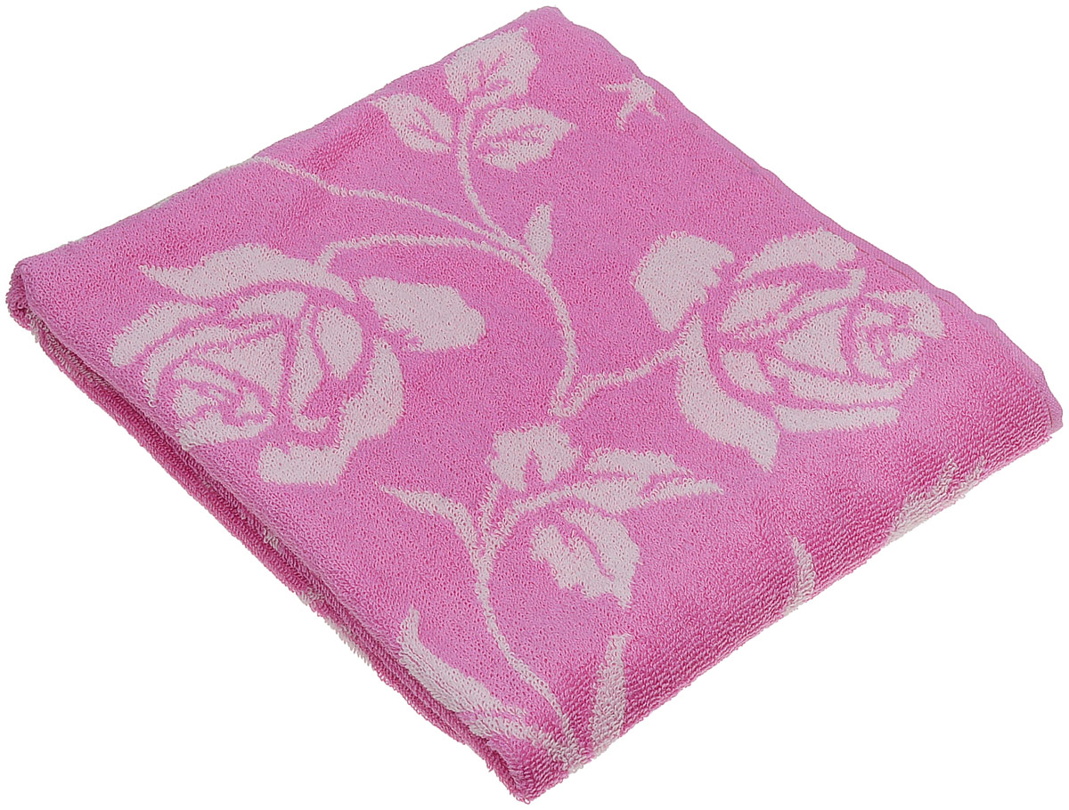 Полотенце банное Aquarelle Розы 2, цвет: розовый, светло-розовый, 50 х 90 см. 710654710654Банное полотенце Aquarelle Розы 2 выполнено из махровой ткани и оформлено принтом с розами. Изделие отлично впитывает влагу, быстро сохнет, сохраняет яркость цвета и нетеряет форму даже после многократных стирок.Такое полотенце очень практично и неприхотливо в уходе.