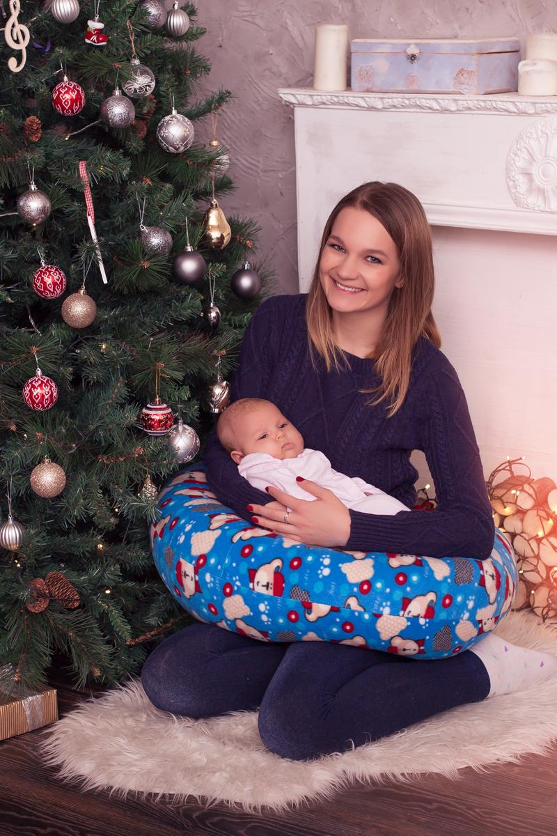40 недель Подушка для кормящих и беременных 170 см 4600073881702 - Подушки для беременных и кормящих