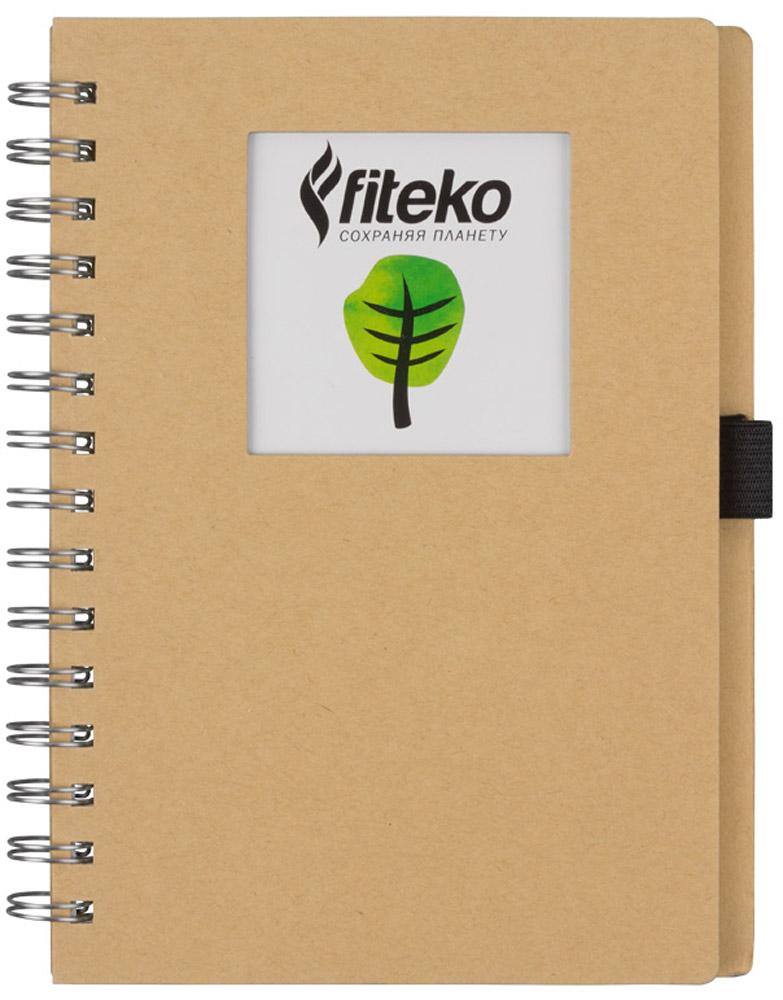 Fiteko Тетрадь 80 листов цвет светло-коричневый RPT-04DI-AN 4801/5_гориллаТетрадь Fiteko станет прекрасным приобретением.Тетради Fiteko удобные, компактные и красивые.Листы тетради белые, не разлинованные.Бумага в тетради офсетная. Плотность - 70 г/см2. Обложка выполнена из переработанной крафт-бумаги.Такая тетрадь станет как прекрасной покупкой для себя, так и чудесным сувениром.Тетрадь выполнена из экологически-чистого материала.