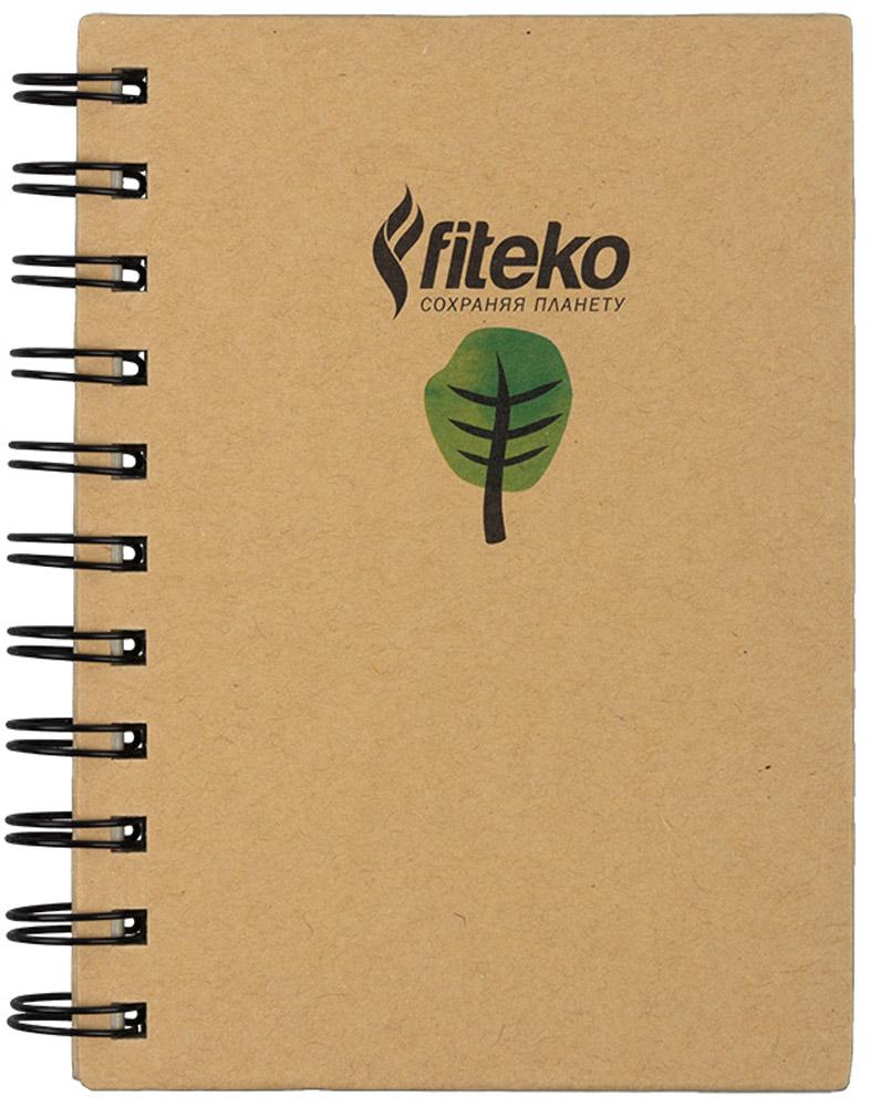 Fiteko Тетрадь 80 листов цвет светло-коричневый RPT-07RPT-07Тетрадь Fiteko станет прекрасным приобретением. Тетради Fiteko удобные, компактные и красивые. Листы тетради белые, не разлинованные. Бумага в тетради офсетная. Плотность - 70 г/см2. Обложка выполнена из переработанной крафт-бумаги. Такая тетрадь станет как прекрасной покупкой для себя, так и чудесным сувениром. Тетрадь выполнена из экологически-чистого материала.