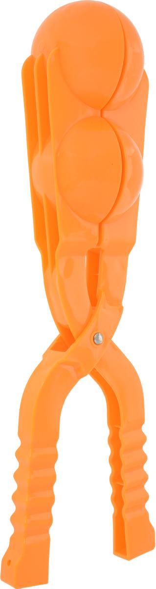 Зимние забавы Снежколеп двойной цвет оранжевый 36 см
