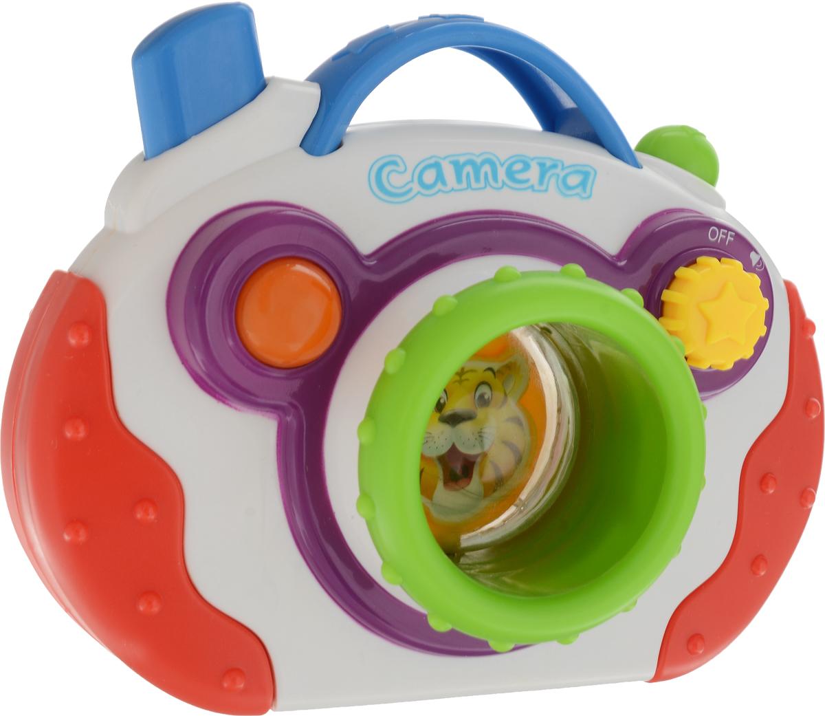 Mommy Love Развивающая игрушка Мини-камера цвет белый красный игровая техника mommy love мини камера