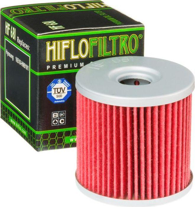 Фильтр масляный HifloFiltro. HF681HF681