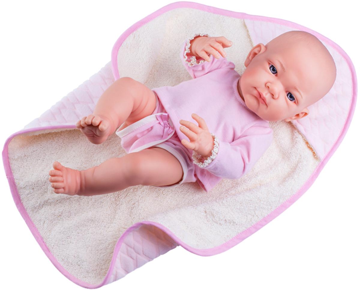 Paola Reina Кукла Бэби в розовом 36 см paola reina кукла вики 47 см paola reina